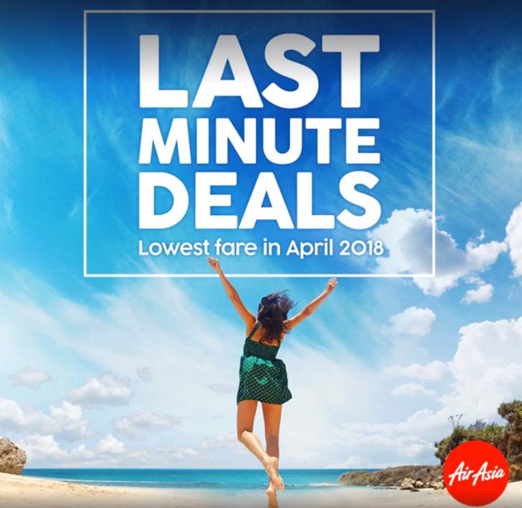 Last Minute Deals AirAsia