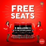 AIRASIA FREE SEATS MARCH 2018 PROMOTION